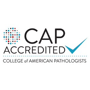 College of American Pathologists accredited logo