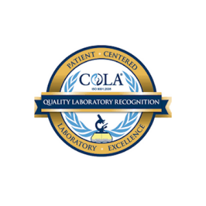 COLA quality laboratory recognition